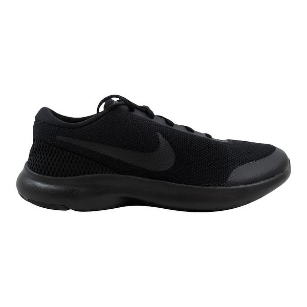27f2a2fbb423 Shop Nike Flex Experience RN 7 4E Black Black-Anthracite AA7405-002 ...