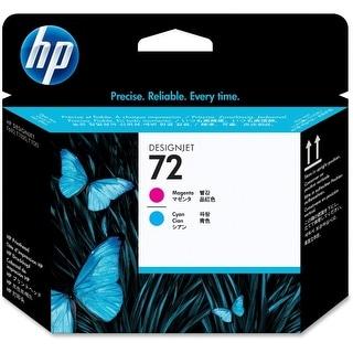 Hewlett Packard C9383A HP 72 Magenta and Cyan Printhead - Magenta, Cyan - Inkjet