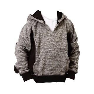Roper Western Sweatshirt Boys Hooded Gray