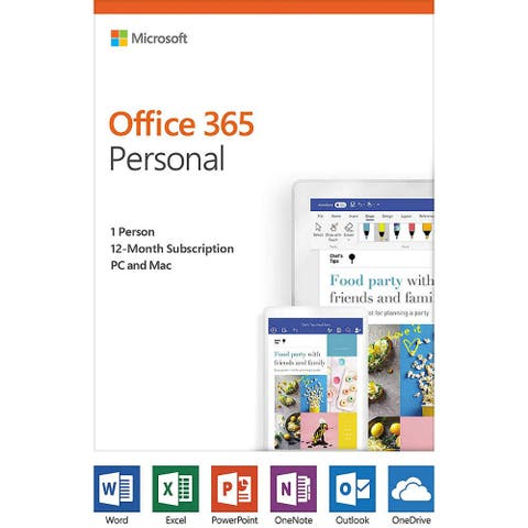 Microsoft QQ2-00728 Office 365 Personal Software For Android, Mac iOS & Windows
