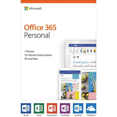 Microsoft QQ2-00728 Office 365 Personal Software