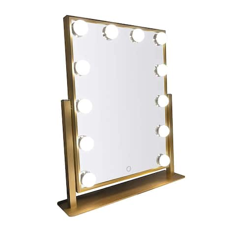 Hollywood Makeup Mirror with 12 LED bulbs