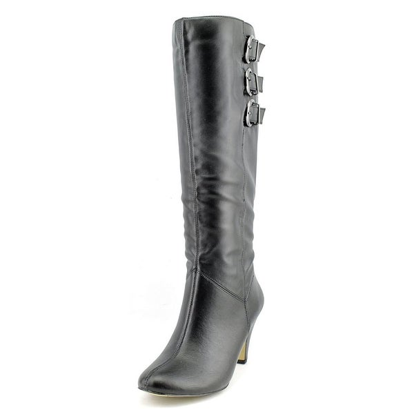 Bella Vita Transit II Wide Calf Women Round Toe Synthetic Black Knee High Boot