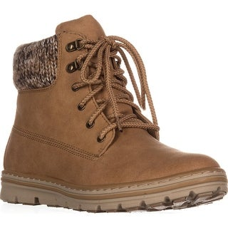 Cliffs by White Mountain Kansas Lace Up Ankle Boots, Wheat