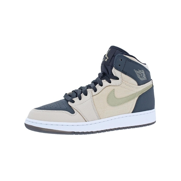 separation shoes 359ef 39a80 Shop Jordan Girls Jordan 1 Retro Hi Prem HC Basketball Shoes ...