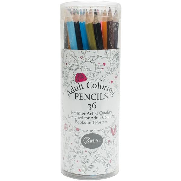 Adult Coloring Pencils 36/Pkg-Adult
