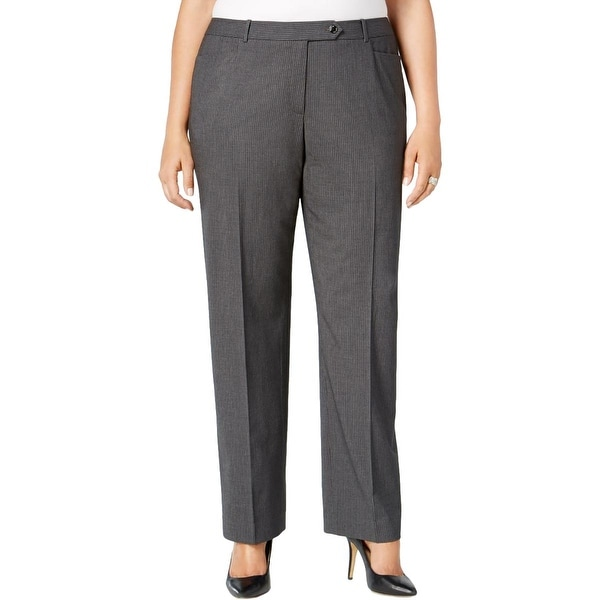5f0a716123d8 Shop Calvin Klein Womens Dress Pants Striped Modern Fit - Free Shipping  Today - Overstock.com - 16617251