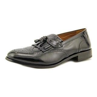 Florsheim Brinson Men D Round Toe Leather Black Oxford