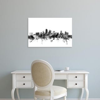 Easy Art Prints Michael Tompsett's 'Kansas City Missouri Skyline' Premium Canvas Art