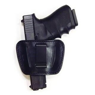 PSP Large Holster 9mm/45 Auto Black Leather Slide