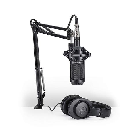 Audio-Technica Vocal Microphone Pack for Streaming/Podcasting