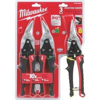 Milwaukee Elec.Tool 3Pc Aviation Snips 48-22-4533 Unit: EACH