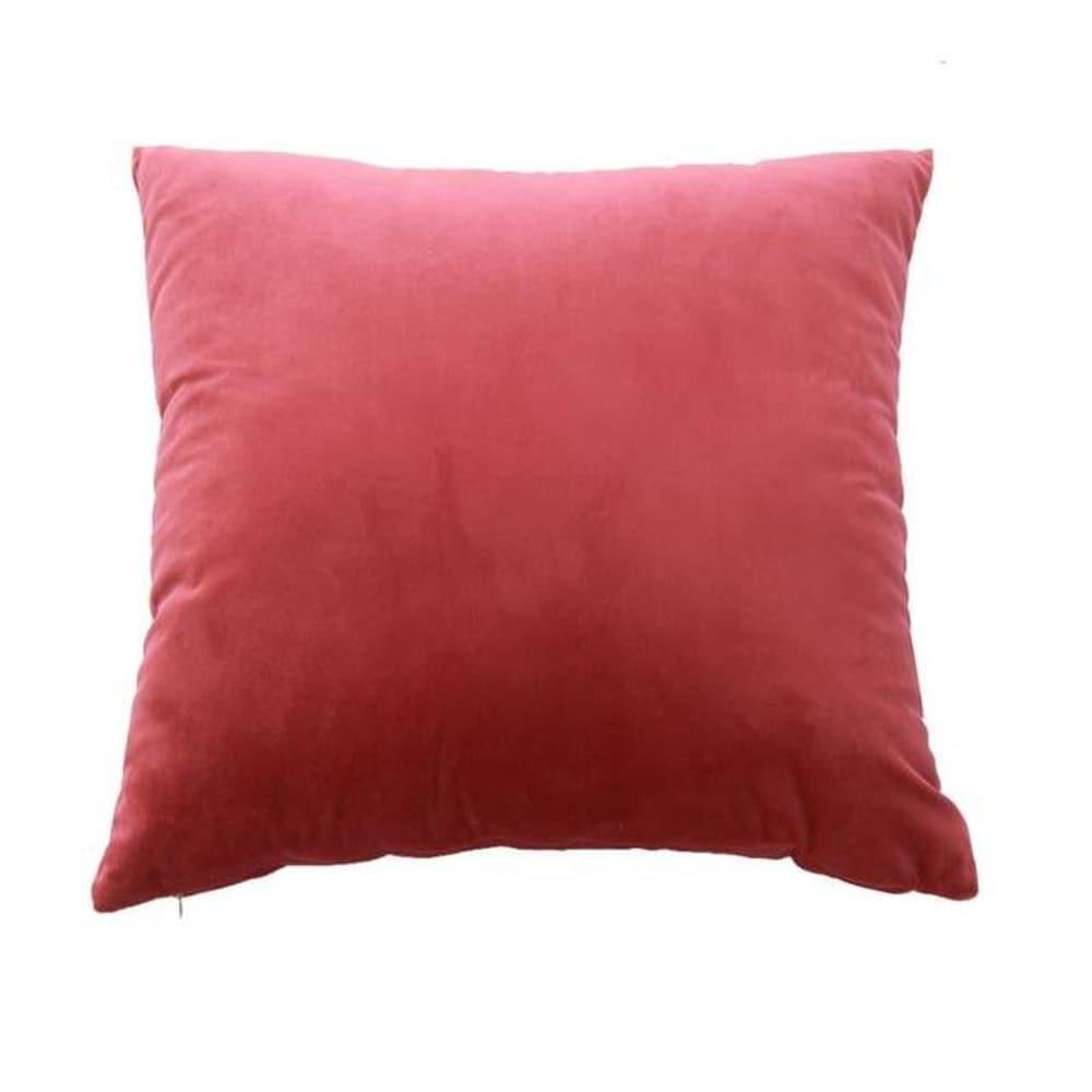 Velvet Pillow Case Sofa Waist Throw