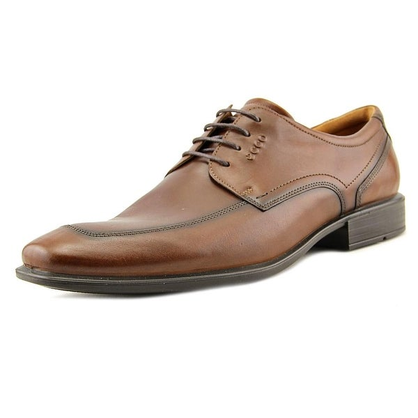 efc68101e28 Shop Ecco Cairo Apron Men Apron Toe Leather Oxford - Free Shipping ...