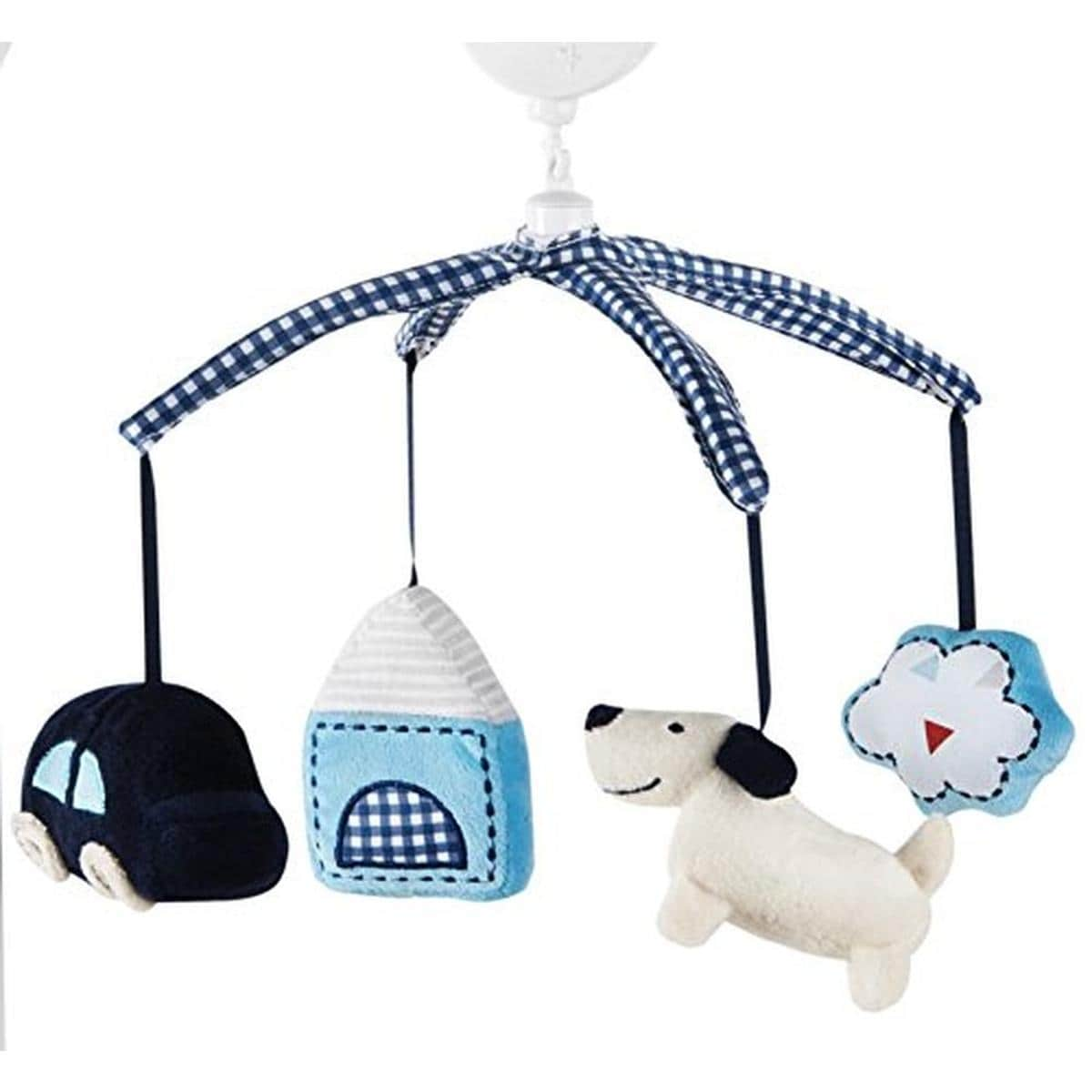 Baby Musical Mobile Crib Bell Toy Bed Holder Wind Up Arm Nursery Lambs Lullaby
