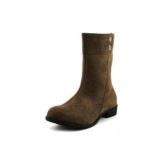 Propet Scotia Women  W Round Toe Canvas Brown Mid Calf Boot