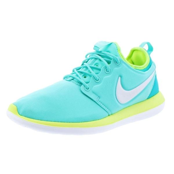 Shop Nike Girls Roshe Two Running Shoes