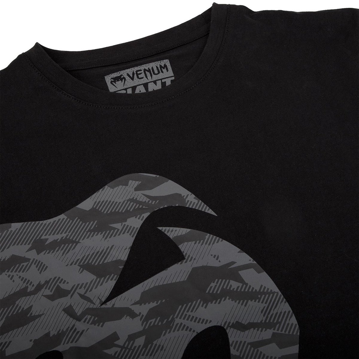 Venum Giant Short Sleeve T-Shirt Gray//Black