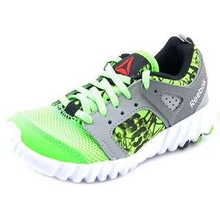 Reebok Twistform 2.0 Youth Round Toe Canvas Running Shoe