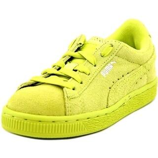 Puma Classic Sneaker Suede Kids Round Toe Suede Sneakers