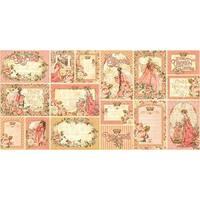 """Princess Ephemera Cards-(16) 4""""X6"""" & (16) 3""""X4"""""""