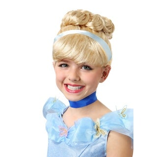 Girls Cinderella Wig