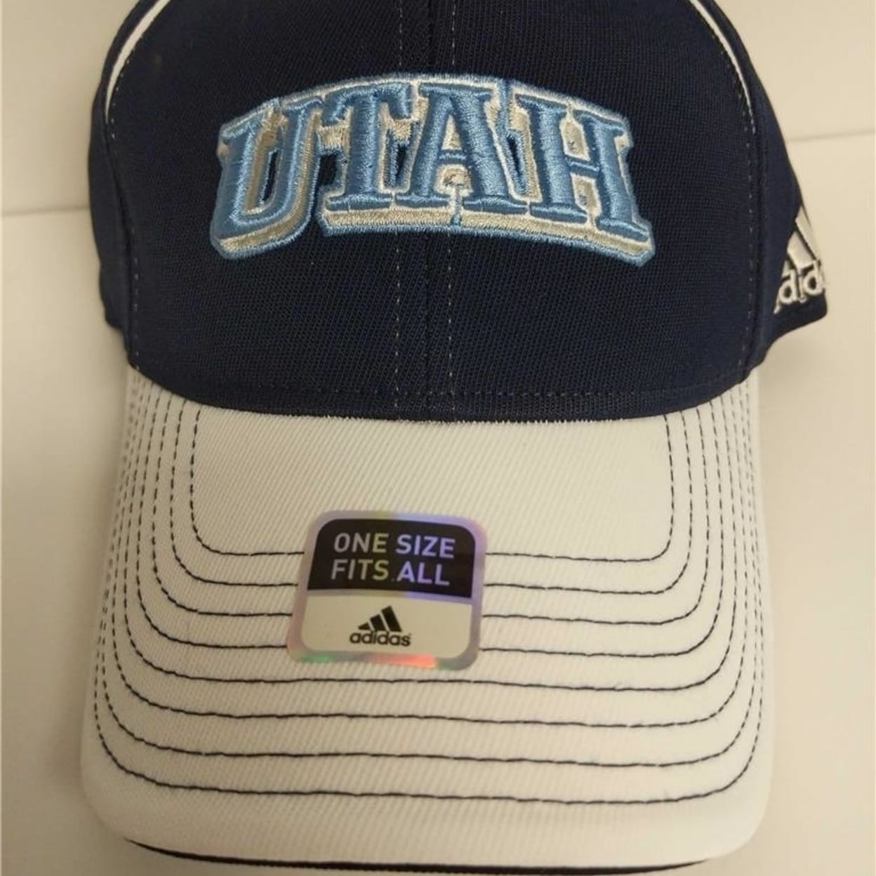 Shop Utah Jazz Adidas Flex Fit Adult Size Osfa Stretch Fit Hat Cap  22 -  Free Shipping On Orders Over  45 - Overstock.com - 23068455 abc407e22e6