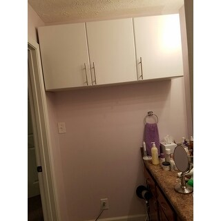 Prepac U0027Winslow Eliteu0027 White 3 Door Wall Cabinet