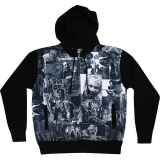 The Walking Dead Classic Images Adult Sublimation Hoodie