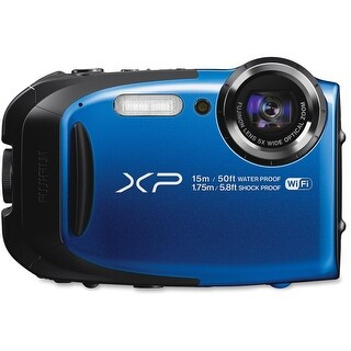 "Fujifilm FinePix XP80 16.4 Megapixel Compact Camera - Blue - 2.7"" (Refurbished)"