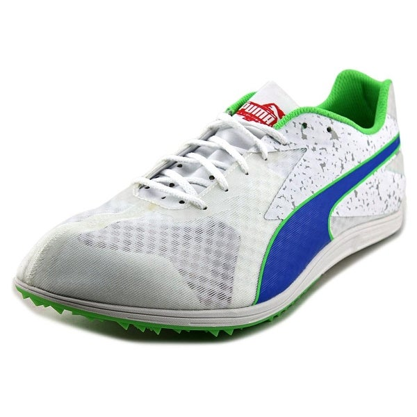 Puma TFX Distance v5 Men Round Toe Synthetic White Running Shoe