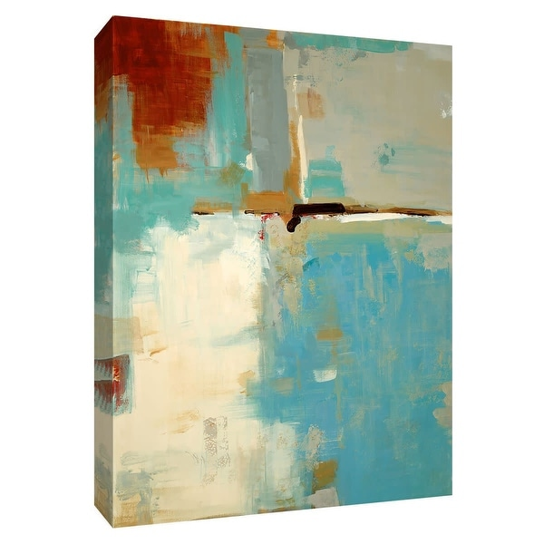 """PTM Images 9-148475 PTM Canvas Collection 10"""" x 8"""" - """"Quad Fusion I"""" Giclee Abstract Art Print on Canvas"""