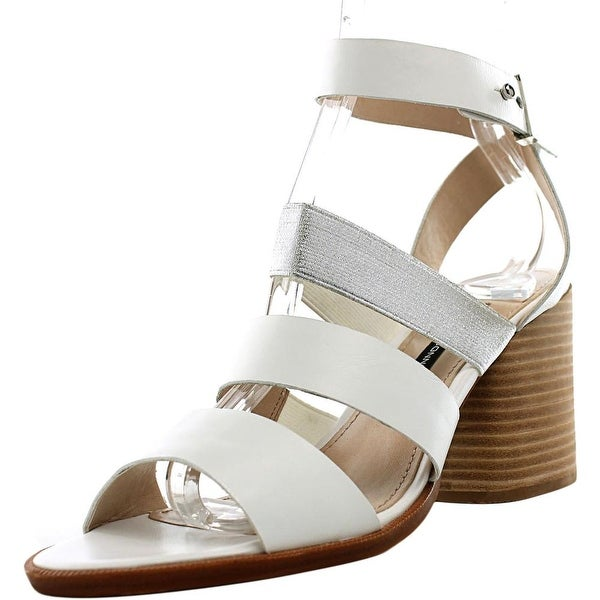 French Connection Ciara Women White /Silver Sandals