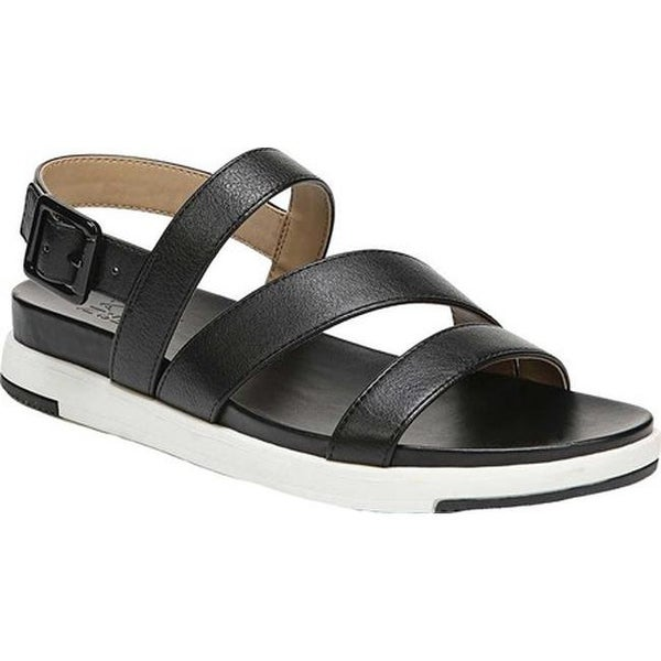 e9f0282fd1 Naturalizer Women's Andrea Strappy Sandal Black Smooth Synthetic