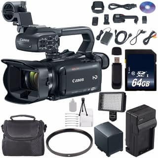 Canon XA35 Professional Camcorder #1003C002 (International Model) + 64GB SDXC Class 10 Memory Card + Carrying Case Bundle|https://ak1.ostkcdn.com/images/products/is/images/direct/056fa4396c907a1c31104b9ad41991f5c01d068c/Canon-XA35-Professional-Camcorder-%231003C002-%28International-Model%29-%2B-64GB-SDXC-Class-10-Memory-Card-%2B-Carrying-Case-Bundle.jpg?impolicy=medium