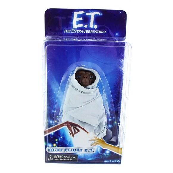 "E.T. the Extra-Terrestrial 7"" Action Figure: Night Flight E.T. - multi"