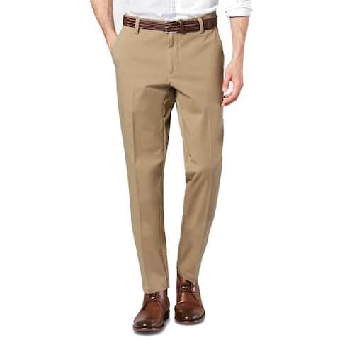 Dockers Mens Pants Beige Size 40X36 Big & Tall Tapered Fit Stretch