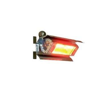 Fire Sense 02110 Mojave Sun Stainless Steel Wall Mounted Infrared Patio Heater