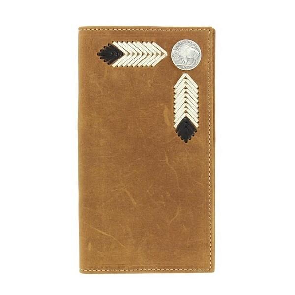 Nocona Western Wallet Mens Rodeo Buffalo Nickel Saddle - One size