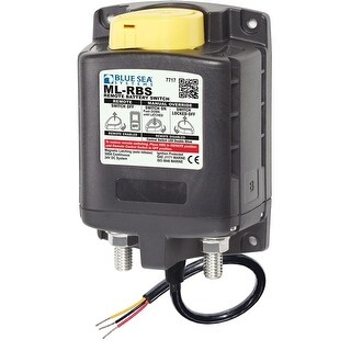 Blue Sea Systems Ml-Rbs Remote Battery Switch W/Manual - 7717