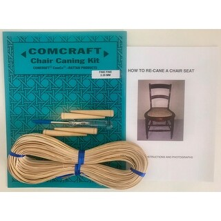 Comcraft Chair Caning Kit-Fine Fine 2.25Mm Cane