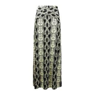 ECI New York Women's Snake Print Jersey Maxi Skirt (Option: Xs)