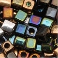 Miyuki 4mm Glass Cube Bead Mix 'Heavy Metal' 10 Grams - Thumbnail 0