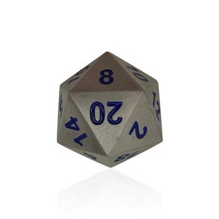 Norse Foundry 45mm D20 Boulder Dice - Atomic Metal - multi