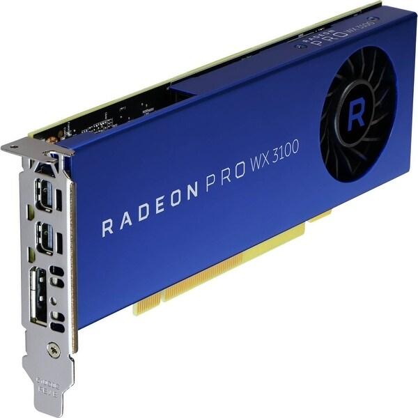 Advanced Micro Devices, Inc. - Radeon Pro Wx 3100 4Gb, Pci-Express X16 (X8 Electrical), 2X Mini-Displayport, 1X
