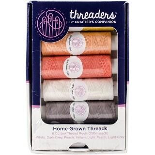 Crafter's Companion Threaders Thread Box Assortment 150M-Home Grown 6/Pkg