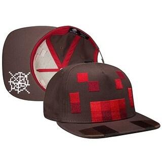 Minecraft Spider Mob Snap Back Hat