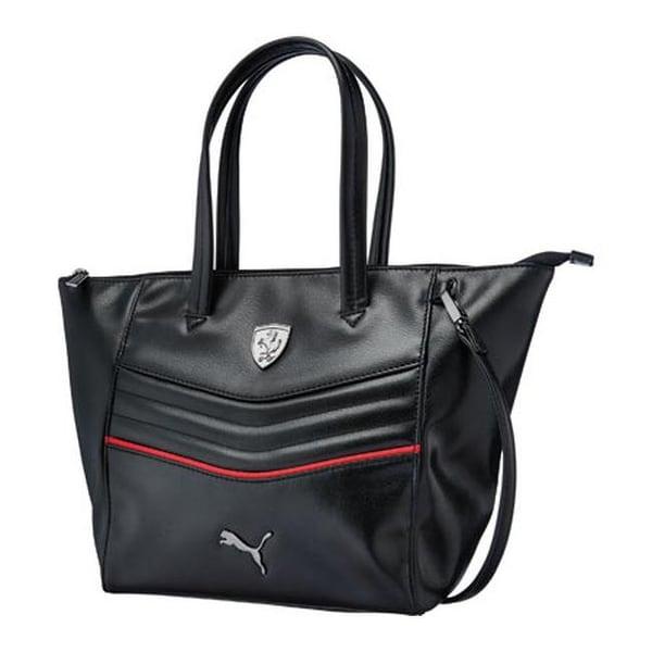 0d1d5e1f018 Shop PUMA Women s Ferrari LS Handbag 073937 Black - US Women s One Size  (Size None) - On Sale - Free Shipping Today - Overstock.com - 11818026