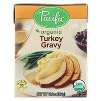 Pacific Natural Foods Gravy - Turkey - Case of 12 - 13.9 Fl oz.