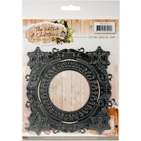 Find It Trading Precious Marieke The Nature Of Christmas Die-Christmas Snowflake Frame